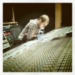 Brian Wages in the Studio